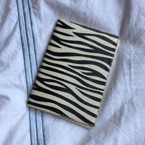 Handbags - Zebra print passport holder